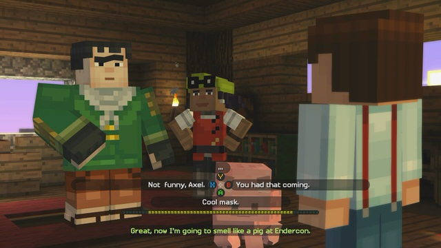 Minecraft: Story Mode - Episode 1: The Order of the Stone