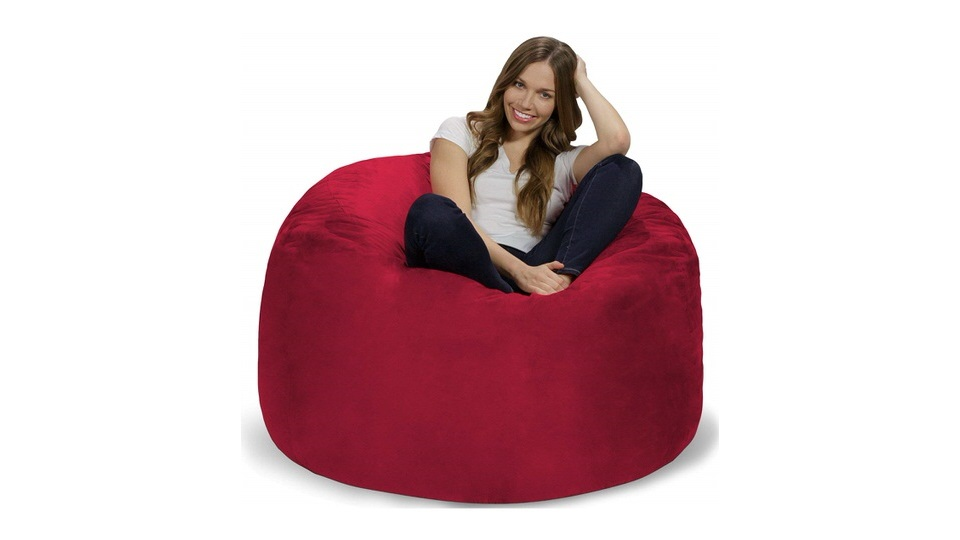 Chill Sack Giant 4' Memory Foam Furniture Bean Bag