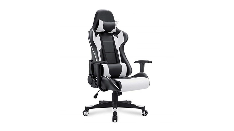 Homall Racing Gaming Chair with Lumbar Support