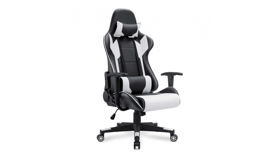 Homall Gaming Chair with Headrest & Lumbar Support