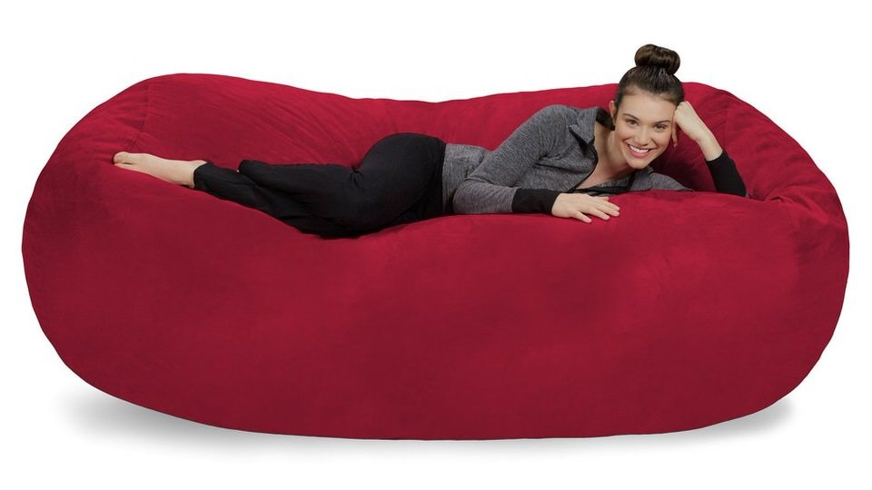 Sofa Sack Plush Bean Bag with Soft Microsuede Cover