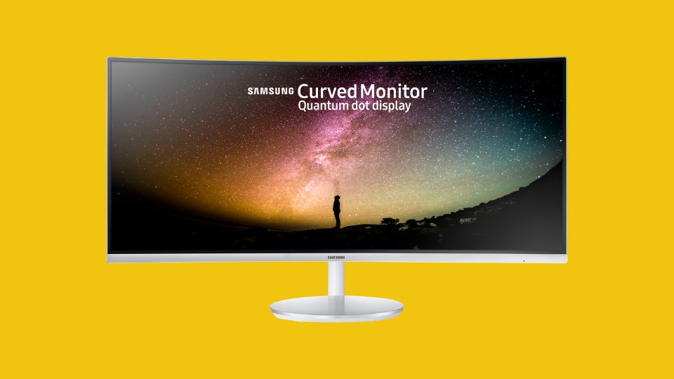 Curved 4K Monitor (For PC)