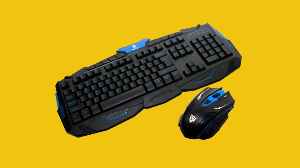 Wireless Gaming Keyboard & Mouse