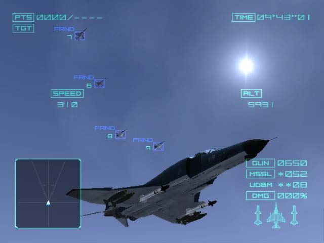 Ace Combat 04: Shattered Skies