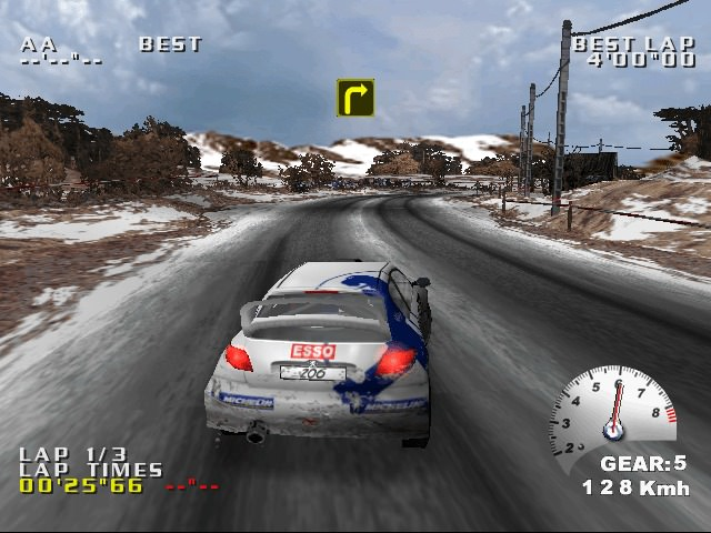 Test Drive V-Rally