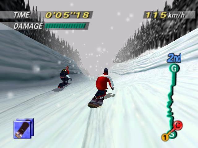 1080: TenEighty Snowboarding