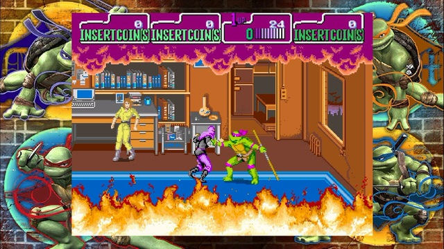 Teenage Mutant Ninja Turtles: 1989 Classic Arcade