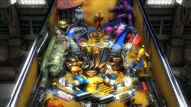 Pinball FX 2: Marvel Pinball