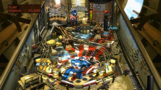 Pinball FX 2: Marvel Pinball - Captain America