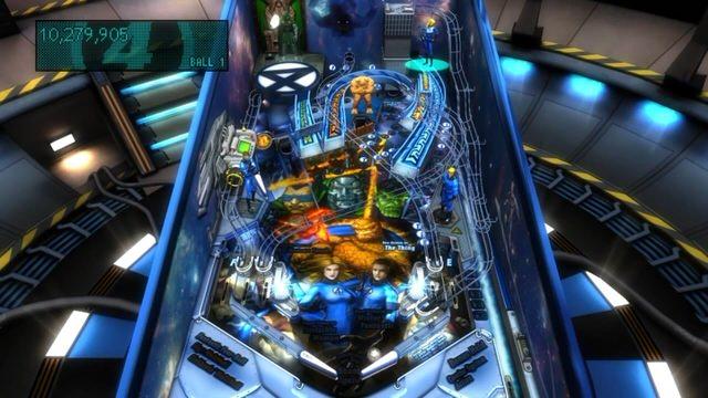 Pinball FX 2: Marvel Pinball - Fantastic Four