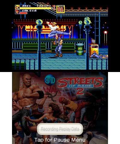 3D Streets of Rage II
